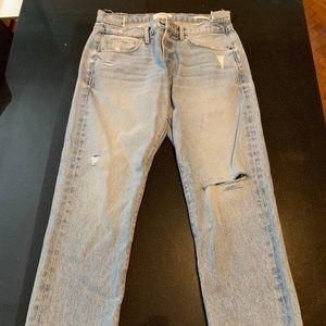 FRAME Le Nouveau Straigh Jeans, Size 27